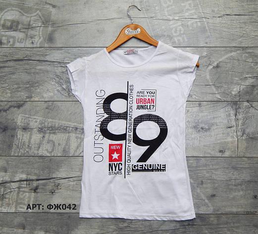 Женская футболка. Размеры: M/2XL, фото 2