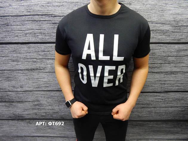Мужская футболка. Размеры: M, L, XL, 2XL (маломерят на размер), фото 2