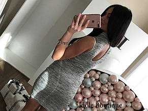 Платье с люрексовыми нитями. Размер One Size(XS-M)., фото 2