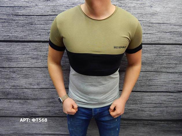 Мужская футболка.  Размеры: S, фото 2