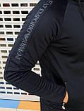 Мужской спортивный костюм Emporio Armani H0838 черный, фото 2