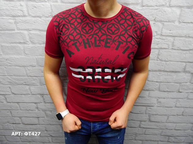 Мужская футболка Размеры: M (маломерят на размер), фото 2