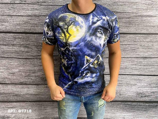 Мужская футболка. Размеры: M,L,XL,2XL,3XL (маломерят на 2 размера), фото 2