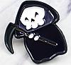 Хеллоувин скелет смерть в плаще с косой пин значок металл фильм  ужасы, фото 3