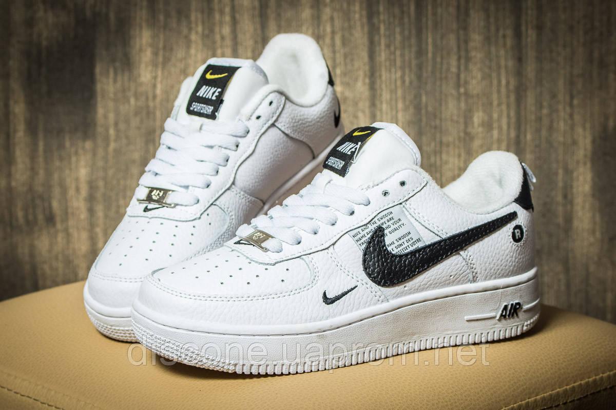 Кроссовки женские 17641 ► Nike Air  AF-1, белые ✅Скидка 28% [ 36 ] ► (36-23,5см)
