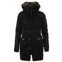 Женская куртка Soulcal&Co чёрная, фото 1