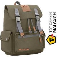 Зеленый рюкзак для мужчин, женщин полиэстер Kingcamp Yellowstone Dark green (KB3323) полиэстер