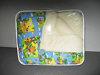 Одеяло меховое детское 140х110см, Чарівний сон (цвета в ассортименте), 1460