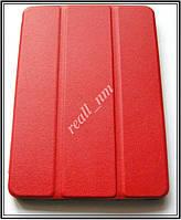 Красный кожаный tri-fold case чехол-книжка для планшета Nokia N1