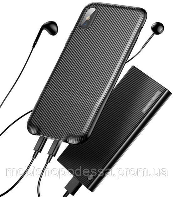 Чохол-кейс для iphone X/XS з POWERBANK Baseus Audio Case Audio+Double Charge phone X/XS
