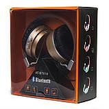 Беспроводные наушники (золото) WH AT-BT819, Gold, фото 2