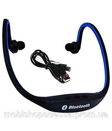 Bluetooth Headset BS19C, Blue
