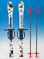 Набор лыжный детский 90 см (лыжи с палками)