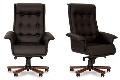 Кресло кожаное для руководителя «Luxus B» LE
