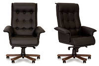 Кресло кожаное для руководителя «Luxus B» LE, фото 1
