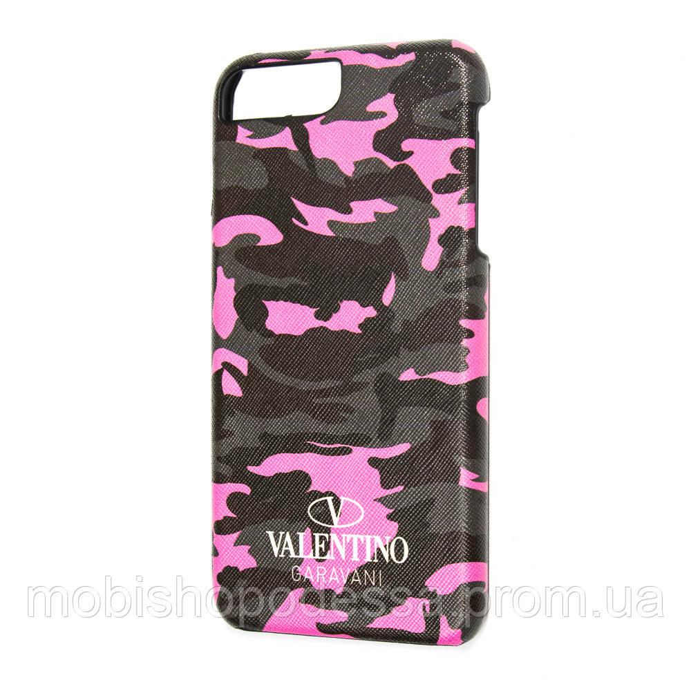Чохол-накладка Valentino Garavani для Apple iPhone 7 Plus/8 Plus Рожевий камуфляж