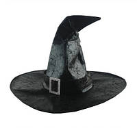 Шляпа ведьмы (волшебника) на Хэллоуин 33 см ISHOWTIENDA Чёрная