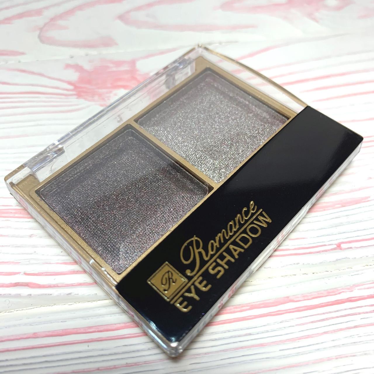 Тени для век Romance Cosmetics двухцветные Y-32 №18