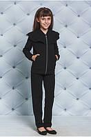 """Школьный костюм брючный для девочки черный """"Agatha"""" - рост 128, 134, 122"""