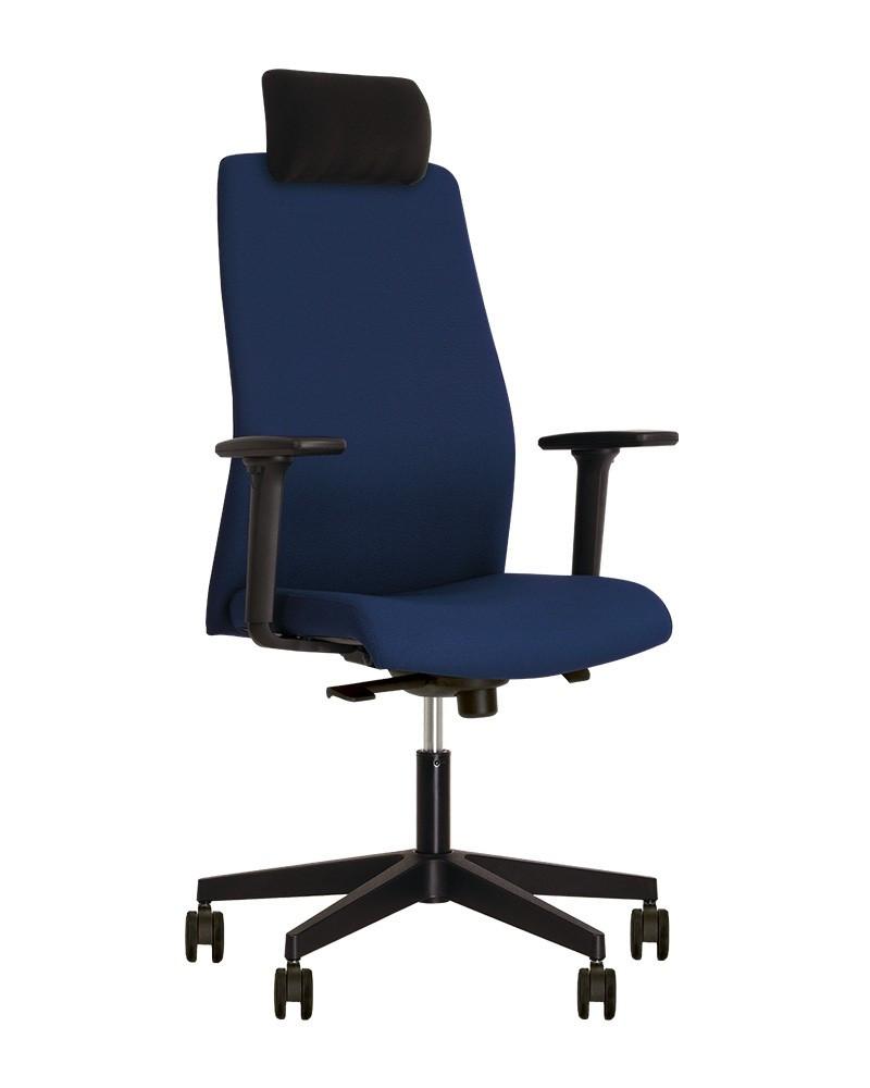 Кресло руководителя SOLO (Соло) R HR black SL PL70