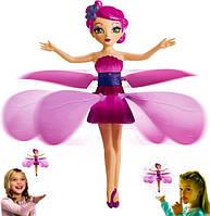 Літаюча чарівна фея лялька летить ширяє над рукою 20см Flying Fairy рожева
