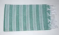 Полотенце-пештемаль Турция Lines 95*180 Green