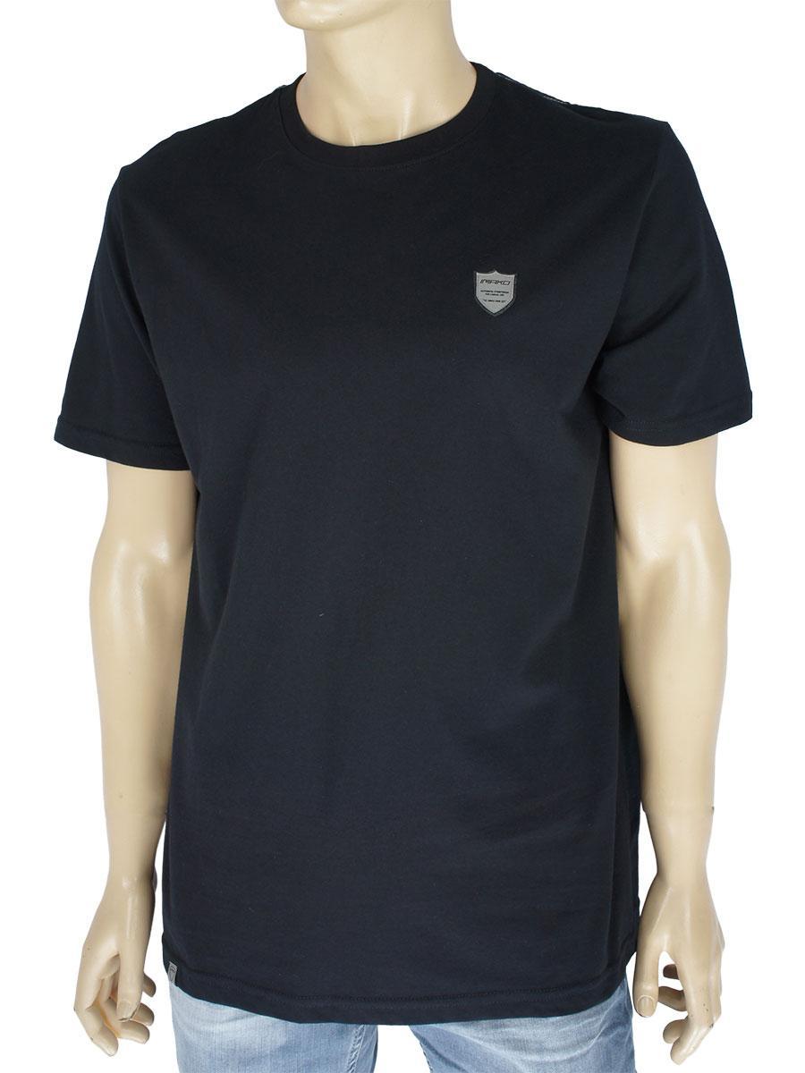 Черная однотонная мужская футболка Imako M:SEVERIAN black