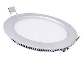 Лед светильник потолочный круг  9W