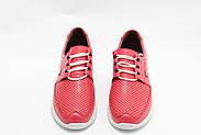 Яркие красные кроссовки Doren 20115-006-kirmizi, фото 3