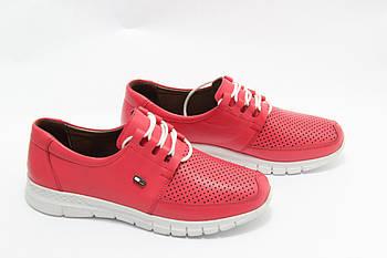 Яркие красные кроссовки Doren 20115-006-kirmizi