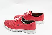 Яркие красные кроссовки Doren 20115-006-kirmizi, фото 4