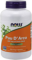 По Д'арко Кора муравьиного дерева Now Foods Pau D'Arco 500 мг (250 капс) нау фудс