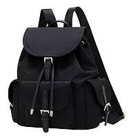 Городской рюкзак женский. Модные рюкзаки. Черный
