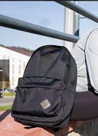Сумки рюкзаки чёрный классический мужской женский модный подростковый городской оксворд водонепромокаемая опт