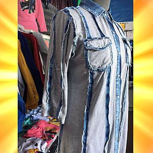 сорочка жіноча SERFI джинсова, фото 2