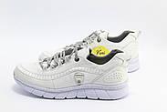 Кожаные женские кроссовки Mammamia D20YA-320LX-BEYAZ-FABER, фото 2
