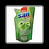Sano средство для мытья посуды 500 мл Яблоко и Мускус запаска