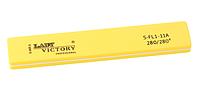 Желтый шлифовщик прямоугольной формы Lady Victory LDV S-FL1-11A /6-0