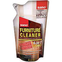 Sano Furniture Cleaner cредство для чистки деревяных поверхностей 500 мл экопак