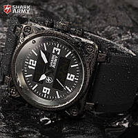Мужские часы Shark Army Black Digital LCD Analog, фото 1