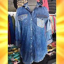 Рубашка жіноча джинсова