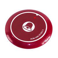 Кнопка виклику офіціанта і персоналу HCM-1000 Bell Red, фото 1