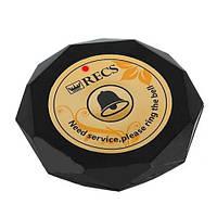 Кнопка виклику офіціанта RECS R-600 Black Crystal USA