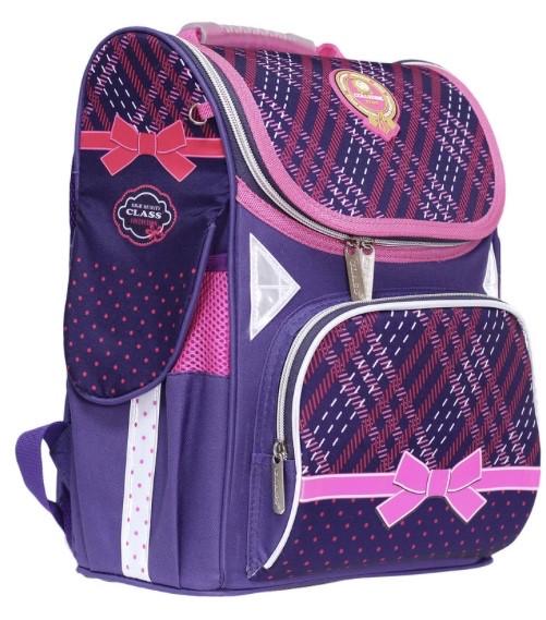 Школьный-каркасный рюкзак для девочек CLASS+рюкзачок для сменной обуви в ПОДАРОК