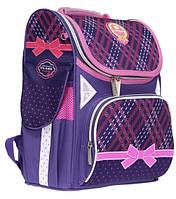 Школьный-каркасный рюкзак для девочек CLASS+рюкзачок для сменной обуви в ПОДАРОК, фото 1