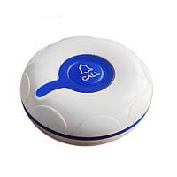 Водозащищенная кнопка вызова официанта RECS R-300 Blue Кнопка вызова для летней площадки