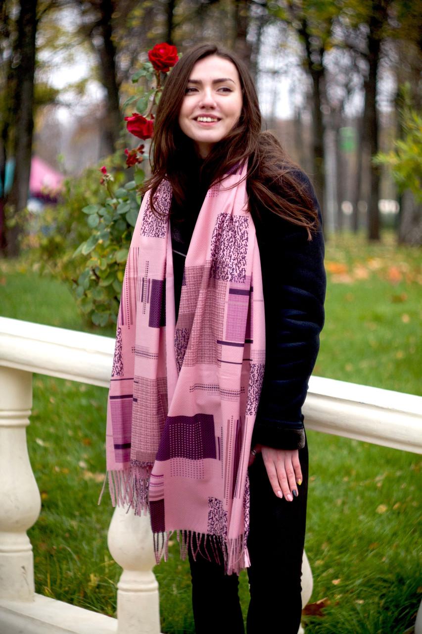 Палантин шарф женский кашемировый Ретро