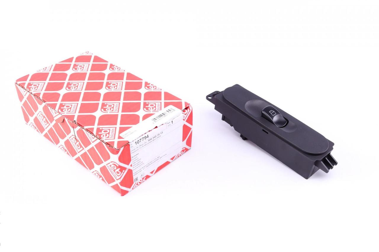 Кнопка склопідіймача (праворуч) MB Sprinter/VW Crafter 06- (107794) FEBI BILSTEIN