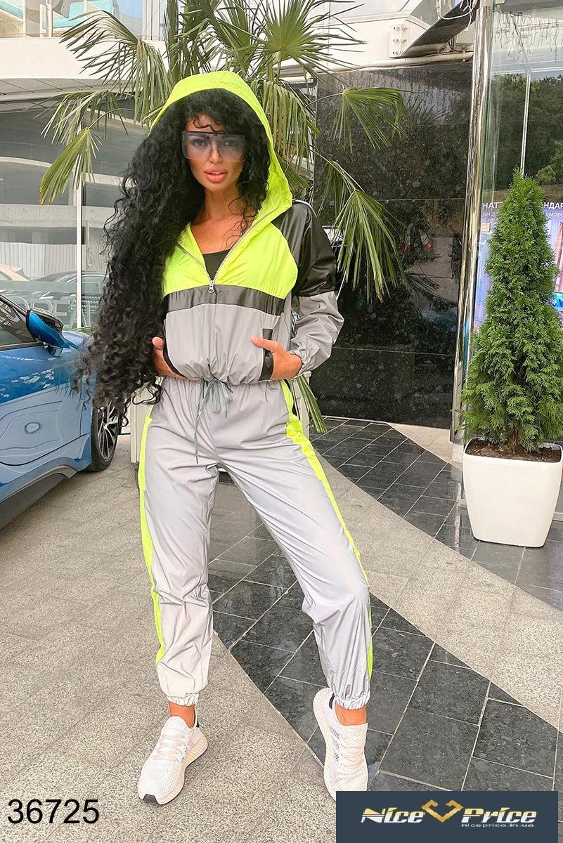 Модный Спортивный костюм женский 42-44 46-48 50-52