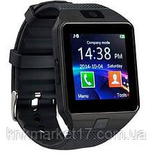 UWatch Розумні смарт годинник з сім-картою 2018 року Smart DZ09 UWatch 5051 Black